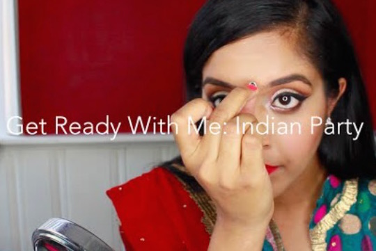 Indian Party Makeup: Get Ready With Me