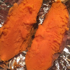 Sweet Potato with salt