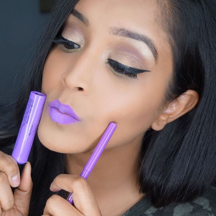 Tarteist Lip Paint Tutorial —Orchid Makeup