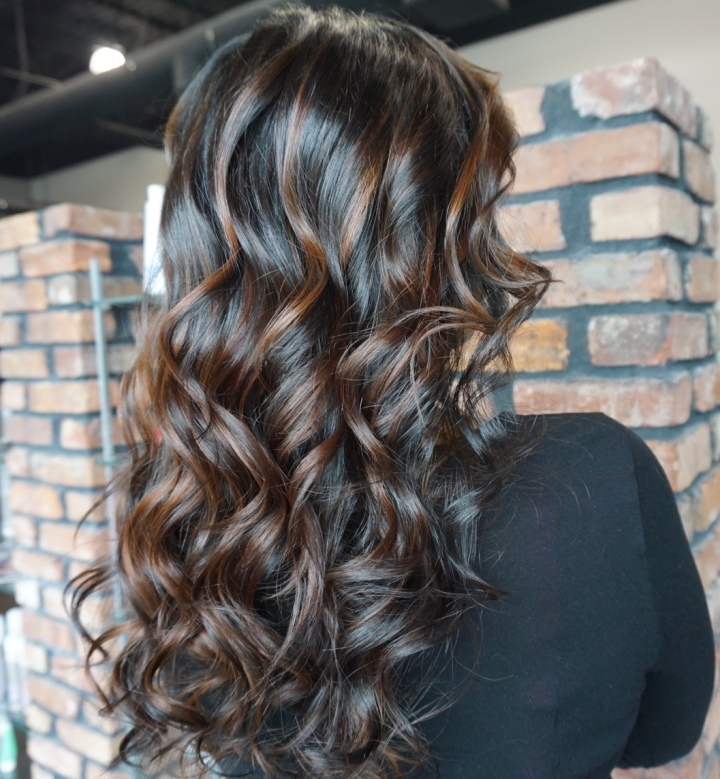 Balayage On Black Hair